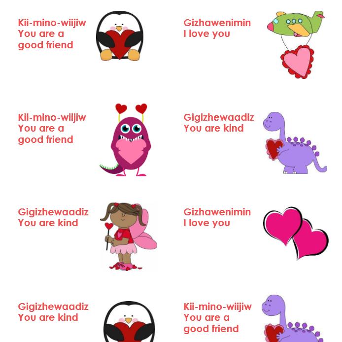 Wiinimoshenhwi-Giizhigad Candy Grams