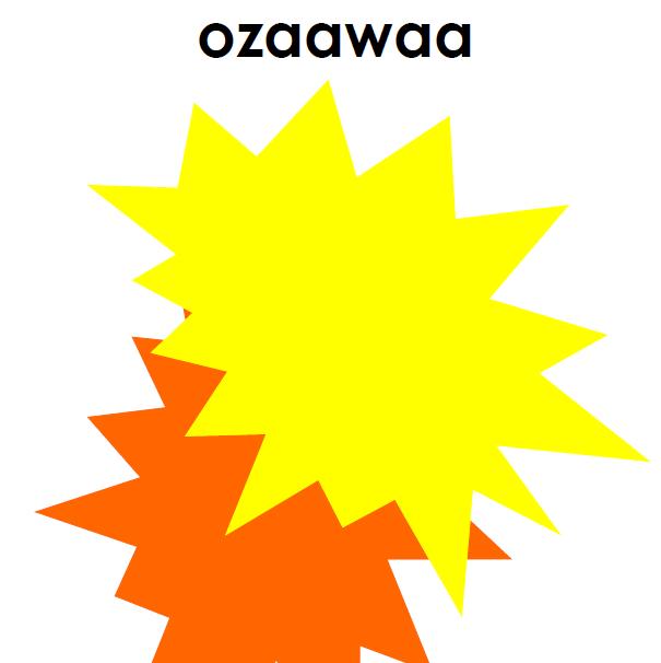 Aaniin Ezhinaagok? - Cards
