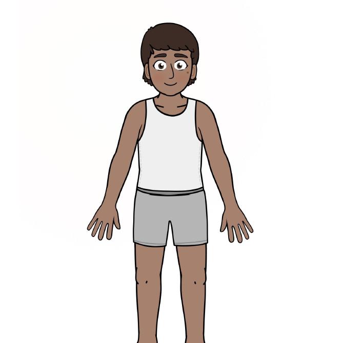 Anishinaabe DressUp Character & Clothing