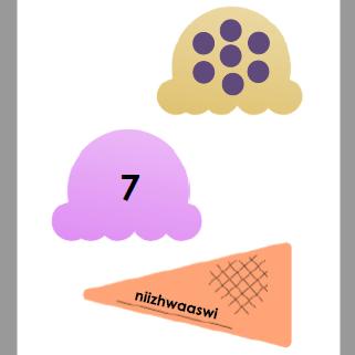 Gaa-dakaag Naabinigan - Ice Cream Puzzles