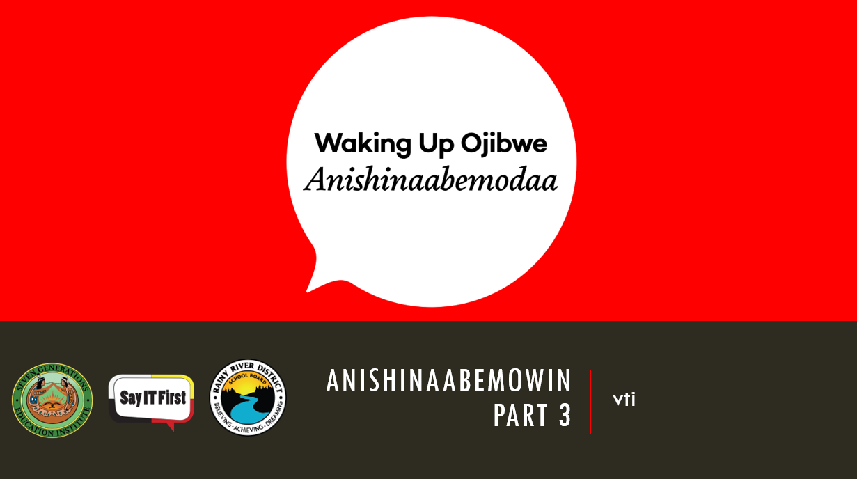 Power Point Presentation - Anishinaabemowin Part 3: vti