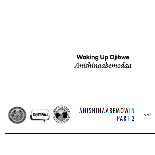 Printer Friendly PPT - Anishinaabemowin Part 2: vai
