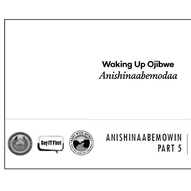 Printer Friendly PPT - Anishinaabemowin Part 5: Making Sentences & Using B-form