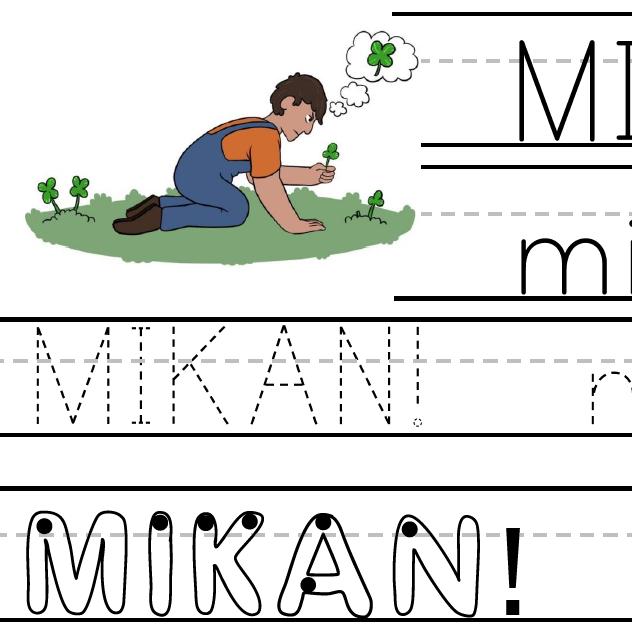 Mikan! - Worksheet