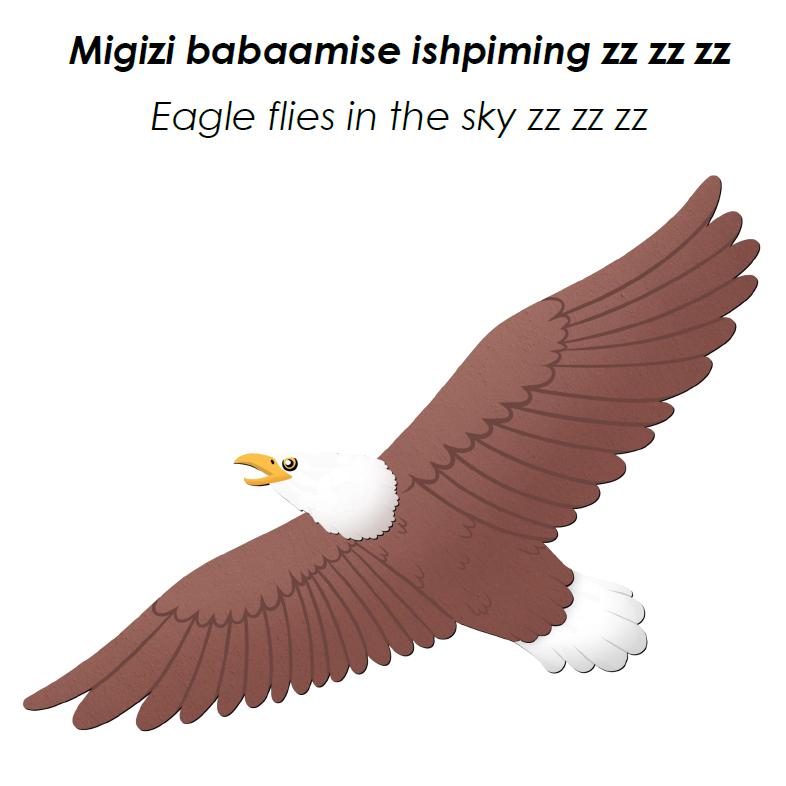 Migizi Speech Card