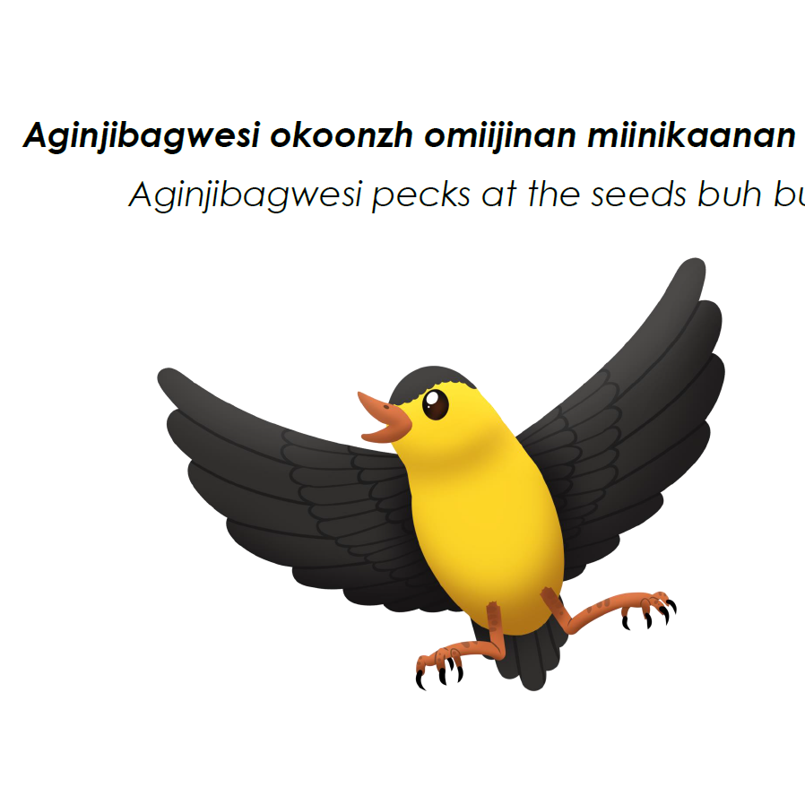 Aginjibagwesi Speech Card